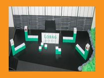 Modellbau Messestand LOBAG